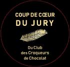 Bertrand Chocolatier a obtenu le Coup de Coeur du Jury du club des Croqueurs de Chocolat