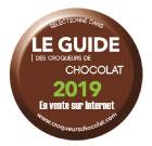 Bertrand Chocolatier fait partie du guide des Croqueurs de Chocolat 2019