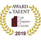 Bertrand Chocolatier a obtenu l'Award du Talent en 2019