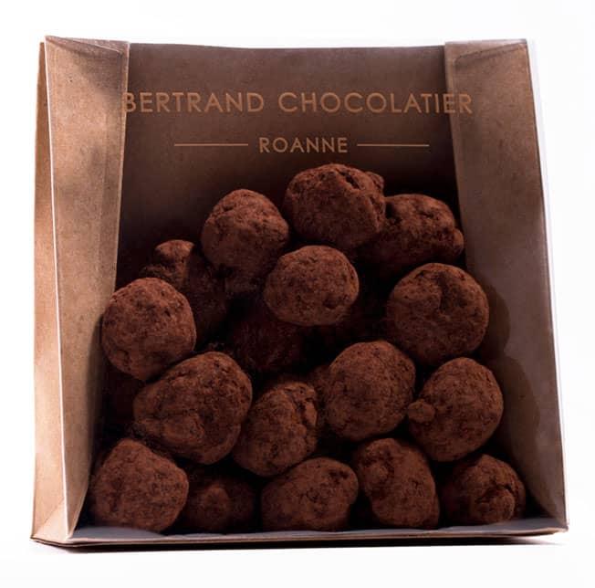 Chocolats enrobés noisettes
