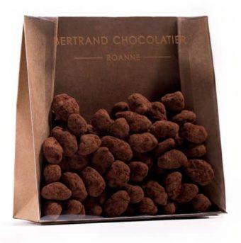 Chocolats enrobés pistaches