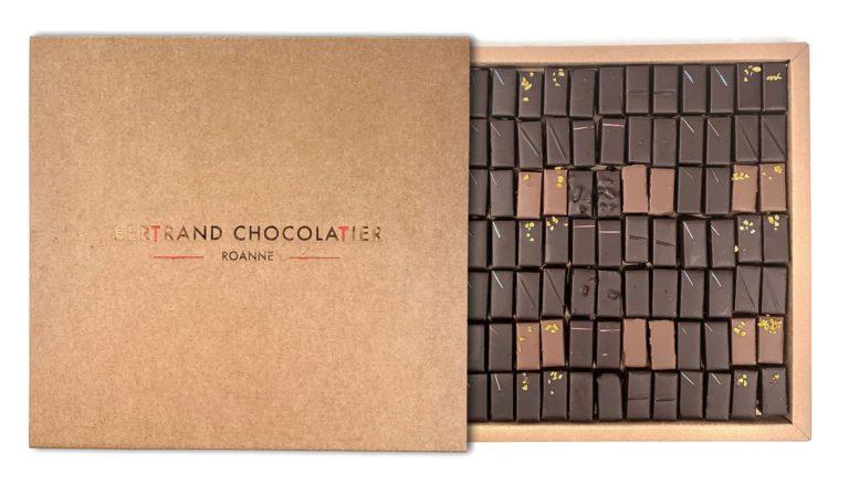 Coffret 100 chocolats classiques