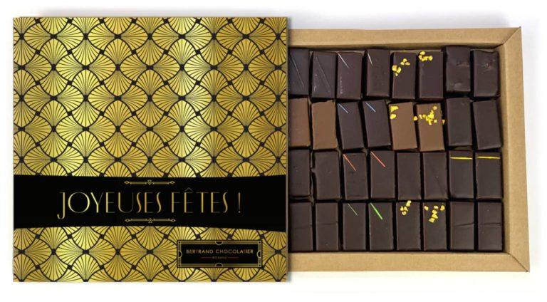 Coffret 32 chocolats joyeuses fêtes