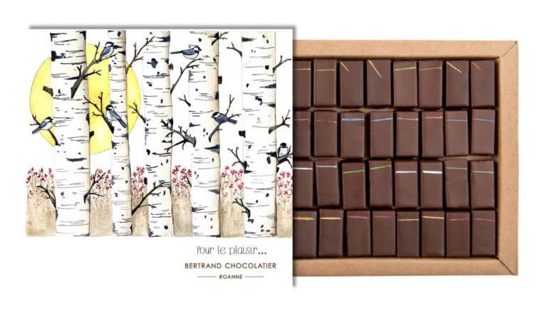 Coffret 32 chocolats miels pour le plaisir