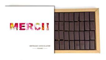 Coffret 32 chocolats origines