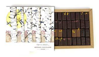 Coffret 32 chocolats pralinés pour le plaisir
