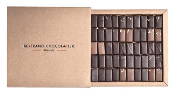 Coffret 50 chocolats classiques
