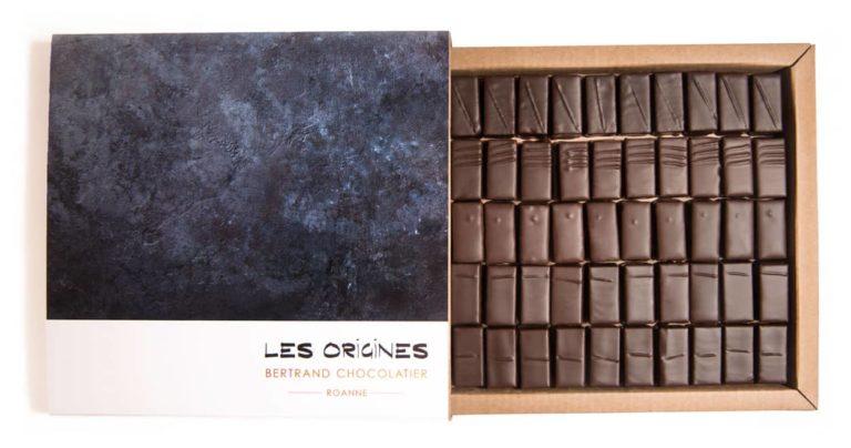 Coffret 50 chocolats origines
