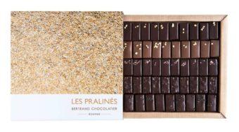 Coffret 50 chocolats pralinés