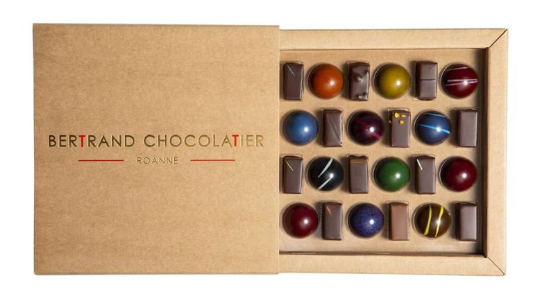 Coffret mixte 25 dômes et chocolats