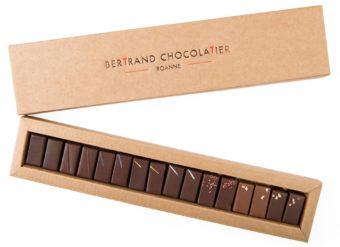 Plumier 16 chocolats classiques