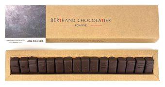 Plumier 16 chocolats origines