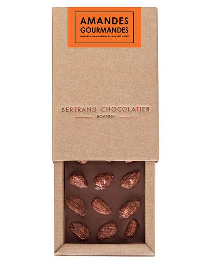 Tablette chocolat amandes