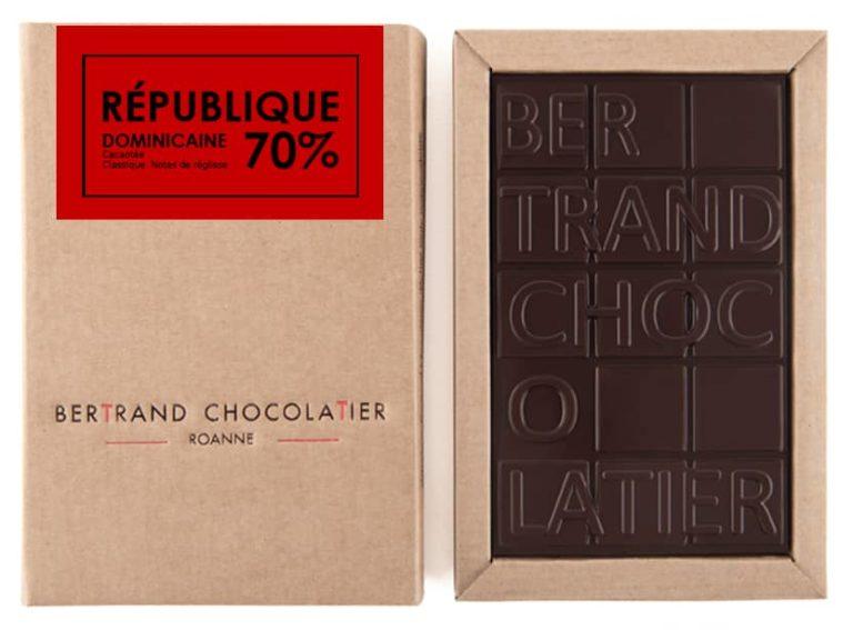Tablette chocolat noir République Dominicaine