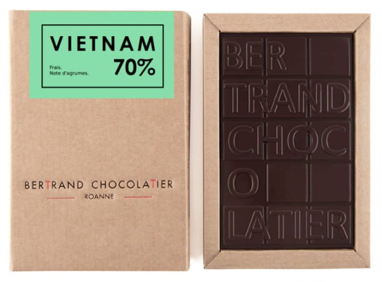 Tablette chocolat noir Vietnam