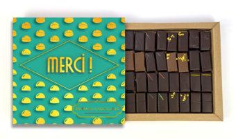 Coffret 32 chocolats Merci