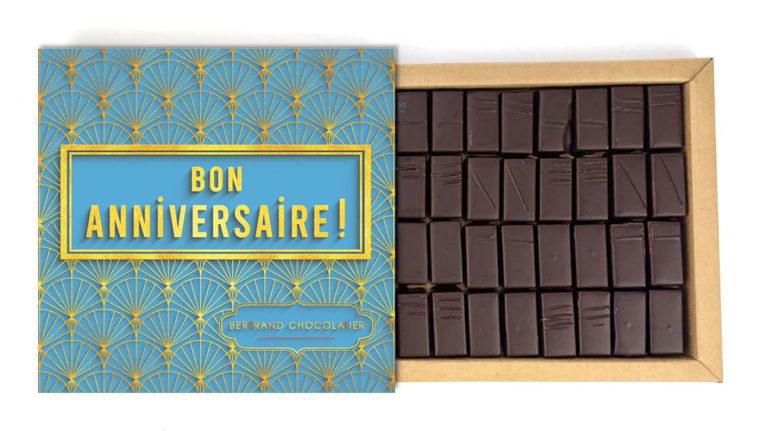 Coffret 32 chocolats Origines Anniversaire