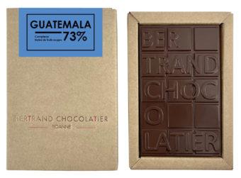 Tablette chocolat noir Guatemala - Bertrand Chocolatier