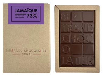 Tablette chocolat noir Jamaique - Bertrand Chocolatier