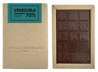 Tablette chocolat noir Venezuela - Bertrand Chocolatier