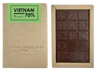 Tablette chocolat noir Vietnam - Bertrand Chocolatier