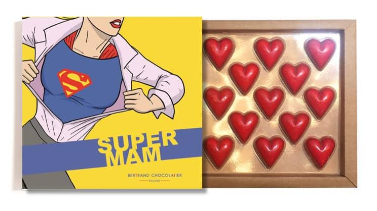 Coffret 13 coeurs fête des mères