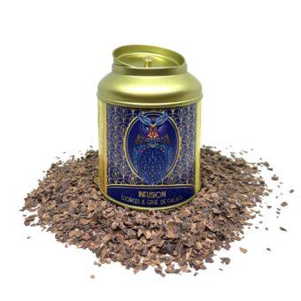 Infusion écorces de grué de cacao