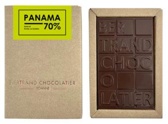 Tablette chocolat noir Panama - Bertrand Chocolatier