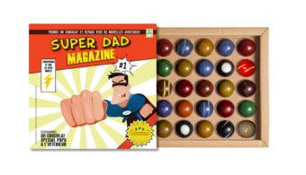 Coffret 25 dômes Super Dad Magazine